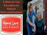 5 Ways to Use Education to Reduce Rehospitalizations