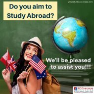 Embark on your journey to fulfil your Study Abroad Dreams