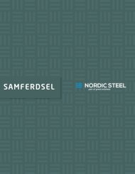 Samferdselbrosjyre | Nordic Steel Group