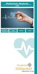 Akademie Heiligenfeld - Medizinprogramm 2020