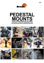 Brodit Pedestal Mounts
