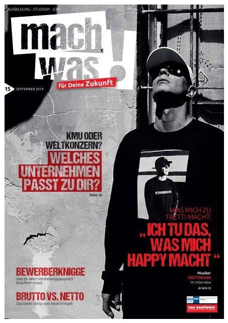 Magazin mach was - 17.09.2019