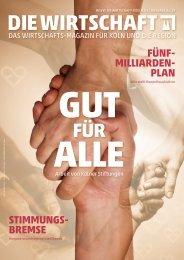 Die Wirtschaft Köln Ausgabe 06 / 2019