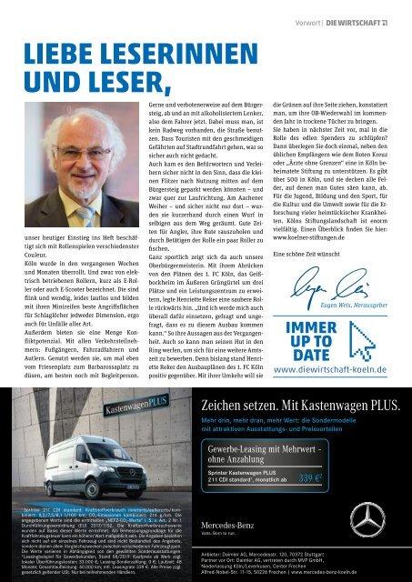 Die Wirtschaft Köln 06 / 2019