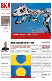 Berner Kulturagenda N°37