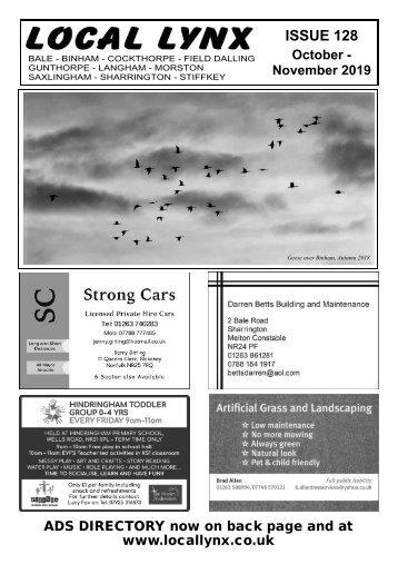 Local Lynx Issue 128 - October/November 2019