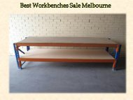 Best Workbenches Sale Melbourne