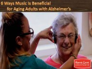 6 Ways Music Is Beneficial for Aging Adults with Alzheimer's