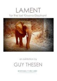 LAMENT for the last Knysna Elephant
