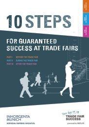 INHORGENTA 2020 // 10 Steps for guaranteed success at trade fairs