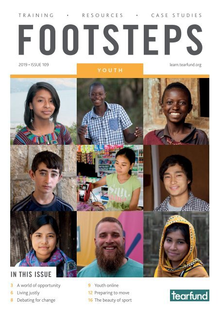 Footsteps 109: Youth