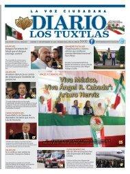 Edición de Diario Los Tuxtlas del día 17 de Septiembre de 2019