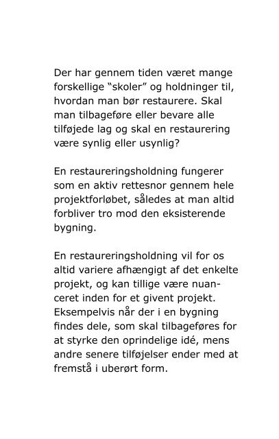 BSA Restaurering