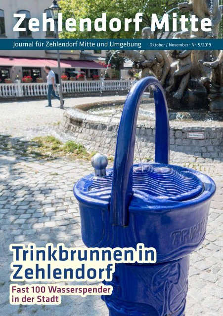 Zehlendorf Mitte Journal Oktober/November 2019
