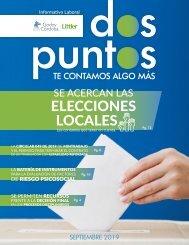 Dos:Puntos - Informativo Laboral Godoy Córdoba - Septiembre 2019
