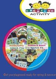 Creative Activity Playground Signs Catalogue