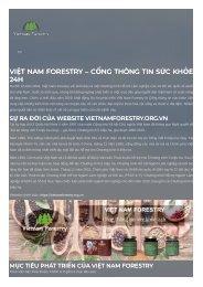 Việt Nam Forestry Web chia sẻ kiến thức về bệnh xương khớp