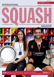 International Squash Magazine - September Issue