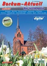 April 2018   Borkum-Aktuell - Das Inselmagazin