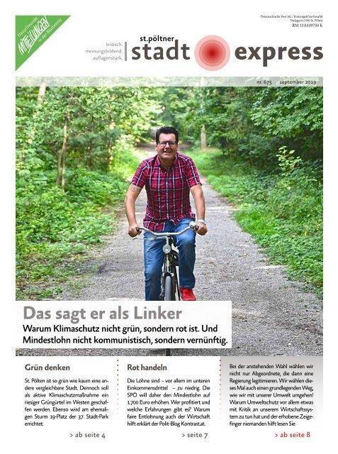 St. Pöltner Stadtexpress September 2019