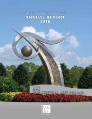 Mattie Kelly Arts Foundation - Annual Report 2018