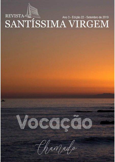 Revista Santíssima Virgem Edição Setembro 2019