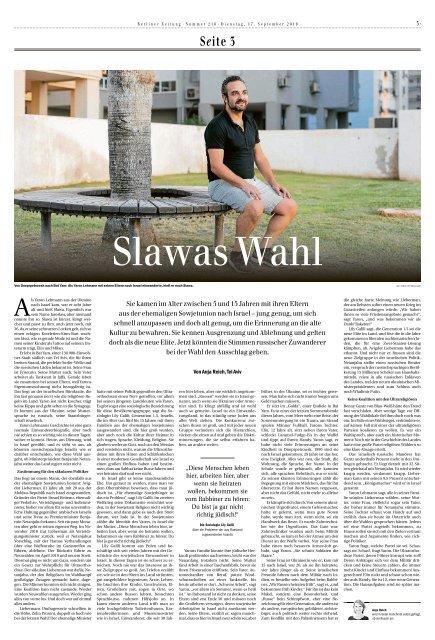 Berliner Zeitung 17.09.2019