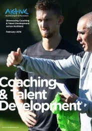Coaching Development 2016