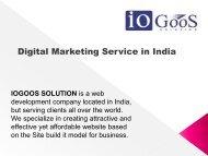 Leading SEO Service in India