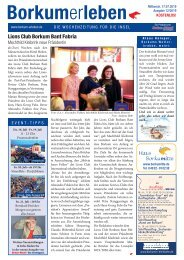 17.07.2019 / Borkumerleben - Die Wochenzeitung