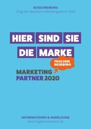 Info-Broschüre MarketingPartner 2020
