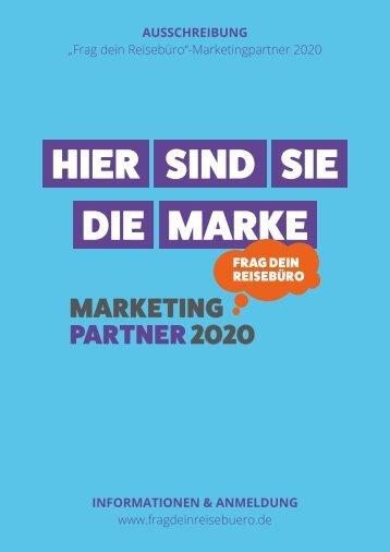 Info-Broschüre MarketingPartner 2020
