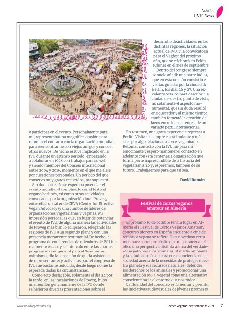 Revista Vegetus nº 33 ( Septiembre - Diciembre 2019)