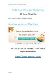 EC-Council ECSAv10 Exam Dumps