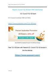 CCISO Certification 712-50 Exam Dumps