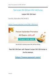 Juniper JNCIS-SEC JN0-334 Exam Dumps