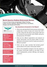 North America Sodium Dichromate Market Size, 2018-2023