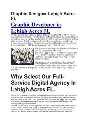 Aku Graphic Designer Lehigh Acres FL   941-263-1344