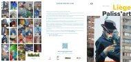 Paliss'art : Création de fresques artistiques à Liège