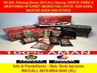 WA 0878-8004-5445, INI DIA, Peluang Usaha Rumahan 2019 Eco Racing