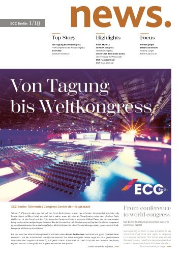 ECC Berlin - News 01/19