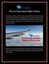 Tips To find cheap Flight Tickets