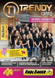 TRENDYone | Das Magazin - Augsburg - August 2018