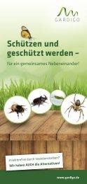 Gardigo Flyer Insektensterben