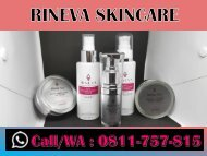 OPEN DEALER, TELP/WA 0811-757-815, Skincare Routine For Oily Skin RINEVA