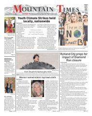 The Mountain Times - Volume 48, Number 38: Sept. 18-24, 2019
