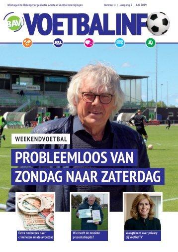 BAV Voetbalinfo - juni 2019