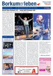 10.07.2019 / Borkumerleben - Die Wochenzeitung