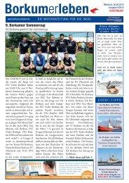 26.06.2019 / Borkumerleben - Die Wochenzeitung