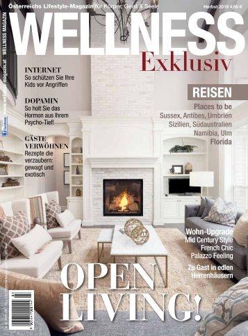WELLNESS Magazin Exklusiv - Herbst 2019